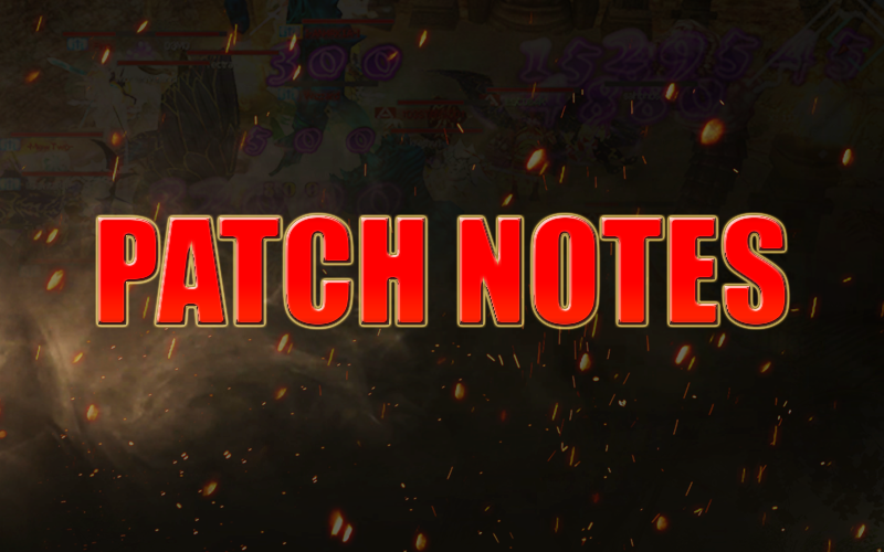 Patch notes + reset de Fama